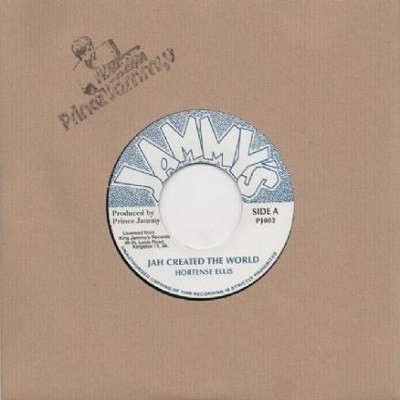 Hortense Ellis : Jah Created The World | Single / 7inch / 45T  |  Oldies / Classics
