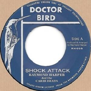 Raymond Harper And The Carib Beats : Shock Attack | Single / 7inch / 45T  |  Oldies / Classics