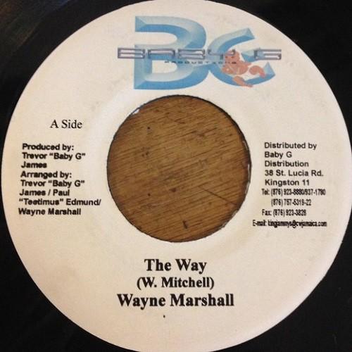 Wayne Marshall : The Way | Single / 7inch / 45T  |  Dancehall / Nu-roots