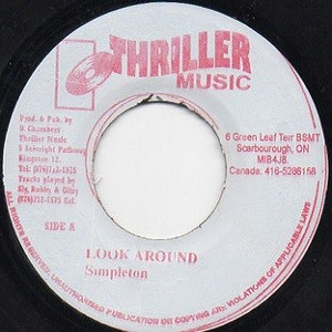 Simpleton : Look Around   Single / 7inch / 45T     Dancehall / Nu-roots