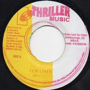 Cobra : Few Lines | Single / 7inch / 45T  |  Dancehall / Nu-roots