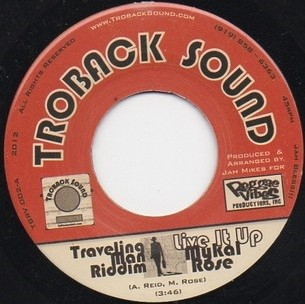 Mykal Rose : Live It Up | Single / 7inch / 45T  |  Dancehall / Nu-roots