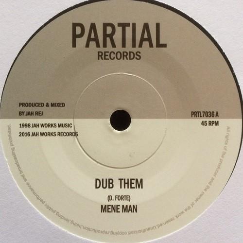 Mene Man : Dub Them | Single / 7inch / 45T  |  UK