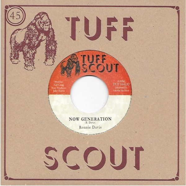 Ronnie Davis : Now Generation   Single / 7inch / 45T     Dancehall / Nu-roots