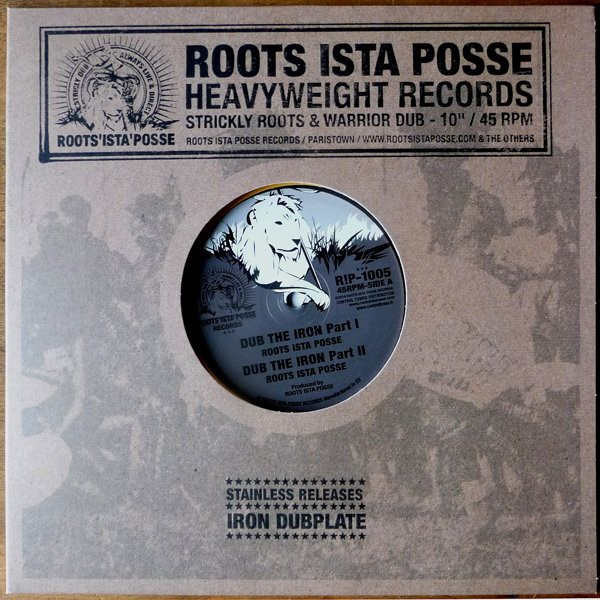 Roots Ista Posse : Dub The Iron Part 1 | Maxi / 10inch / 12inch  |  UK