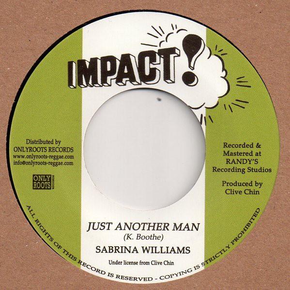 Sabrina Williams : Just Another Man