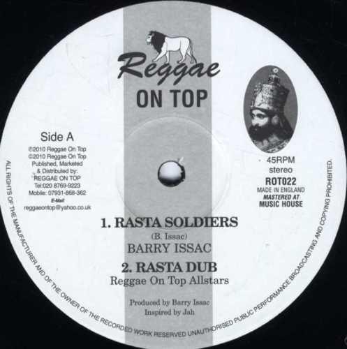 Barry Issac : Rasta Soldiers   Maxi / 10inch / 12inch     UK