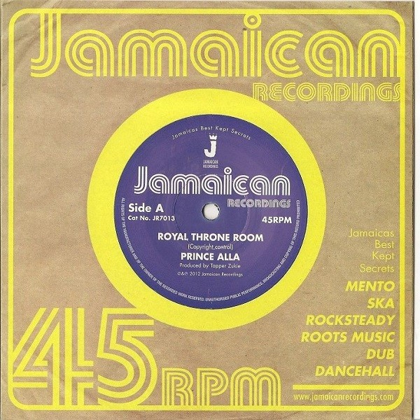 Prince Alla : Royal Throne Room | Single / 7inch / 45T  |  Oldies / Classics