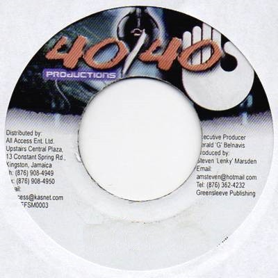Wayne Wonder : No Letting Go | Single / 7inch / 45T  |  Dancehall / Nu-roots