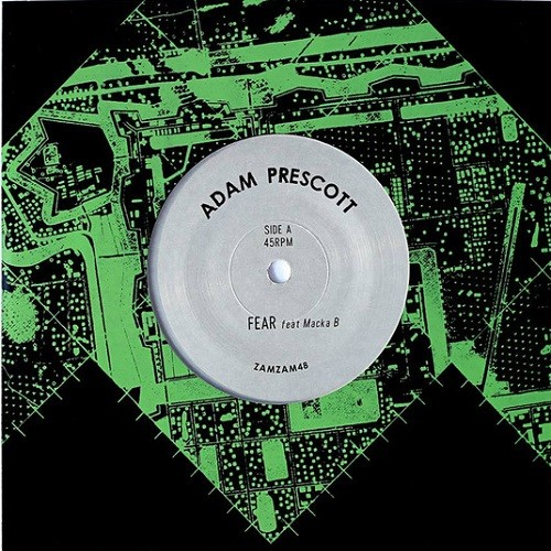 Adam Prescott Ft. Macka B : Fear | Single / 7inch / 45T  |  UK