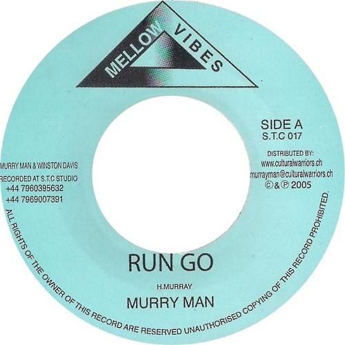 Murry Man : Run Go | Single / 7inch / 45T  |  UK
