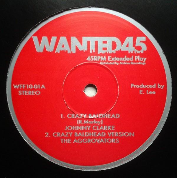Johnny Clarke : Crazy Baldhead ( Red ) | Maxi / 10inch / 12inch  |  Oldies / Classics