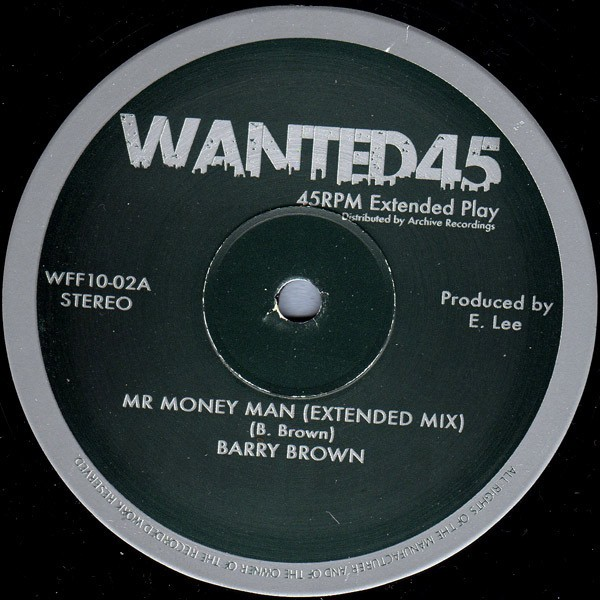 Barry Brown : Mr Money Man | Maxi / 10inch / 12inch  |  Oldies / Classics