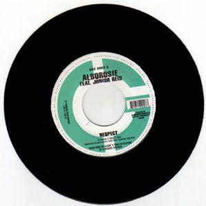 Alborosie Feat.  Junior Reid : Respect | Single / 7inch / 45T  |  Dancehall / Nu-roots