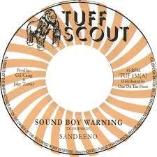 Sandeeno : Sound Boy Warning   Single / 7inch / 45T     Dancehall / Nu-roots