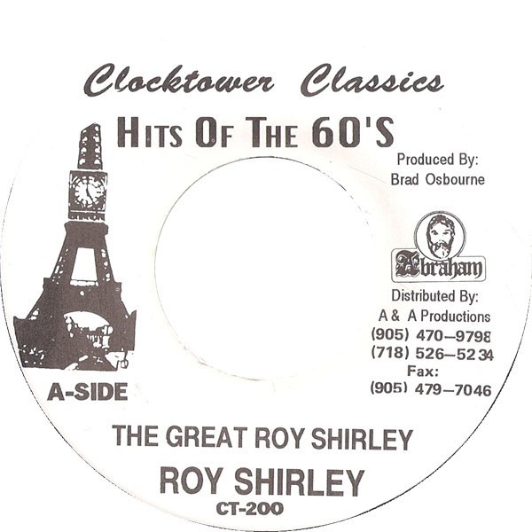 Roy Shirley : The Great Roy Shirley | Single / 7inch / 45T  |  Oldies / Classics