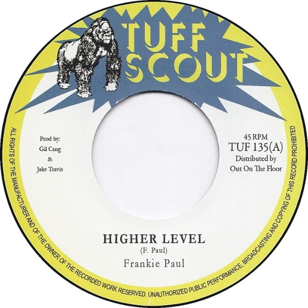 Frankie Paul : Higher Level   Single / 7inch / 45T     Dancehall / Nu-roots
