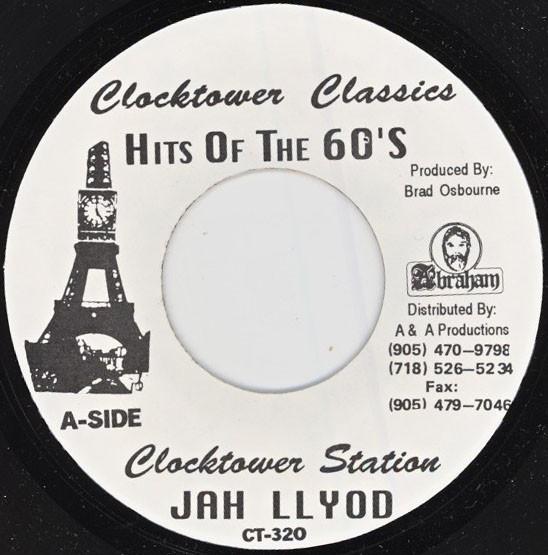 Jah Lloyd : Clocktower Station | Single / 7inch / 45T  |  Oldies / Classics