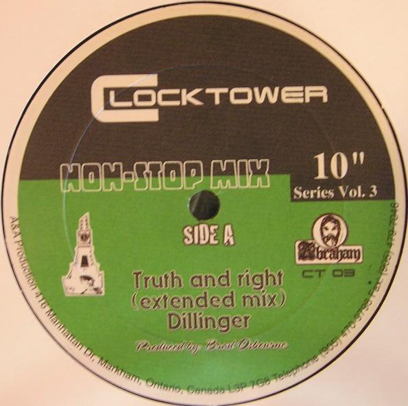 Dillinger : Truth And Right (extended Mix) | Maxi / 10inch / 12inch  |  Oldies / Classics