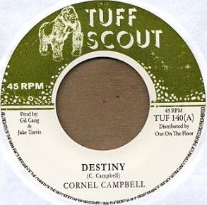 Cornell Campbell : Destiny | Single / 7inch / 45T  |  Dancehall / Nu-roots