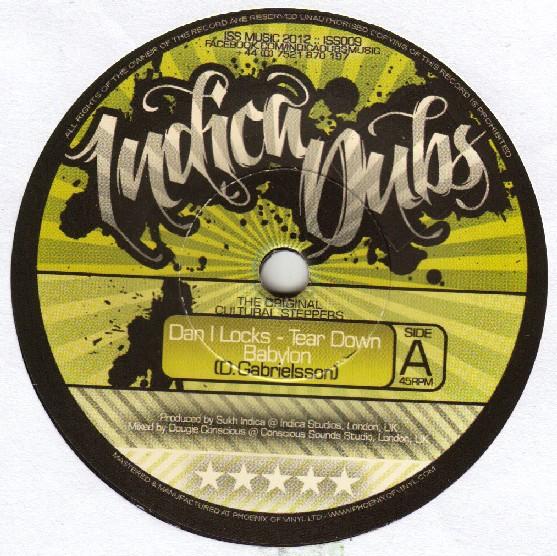 Dan I Locks : Tear Down Babylon | Single / 7inch / 45T  |  FR