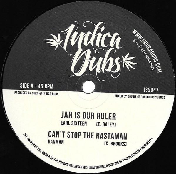 Earl Sixteen : Jah Is Our Ruler   Maxi / 10inch / 12inch     UK