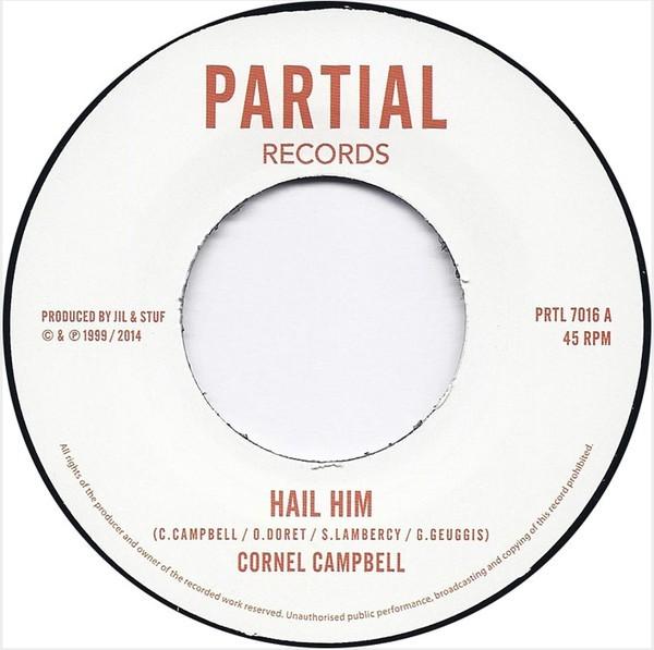 Cornel Campbell : Hail Him   Single / 7inch / 45T     UK