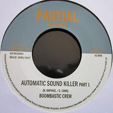 Boombastic Crew : Automatic Sound Killer   Single / 7inch / 45T     UK