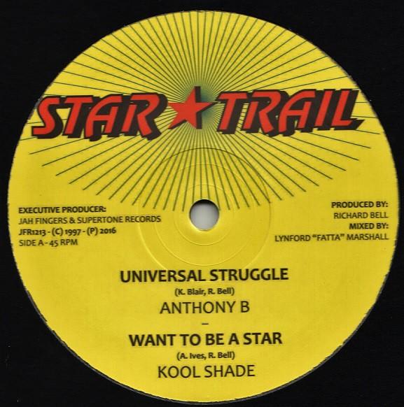 Anthony B : Universal Struggle | Maxi / 10inch / 12inch  |  Oldies / Classics
