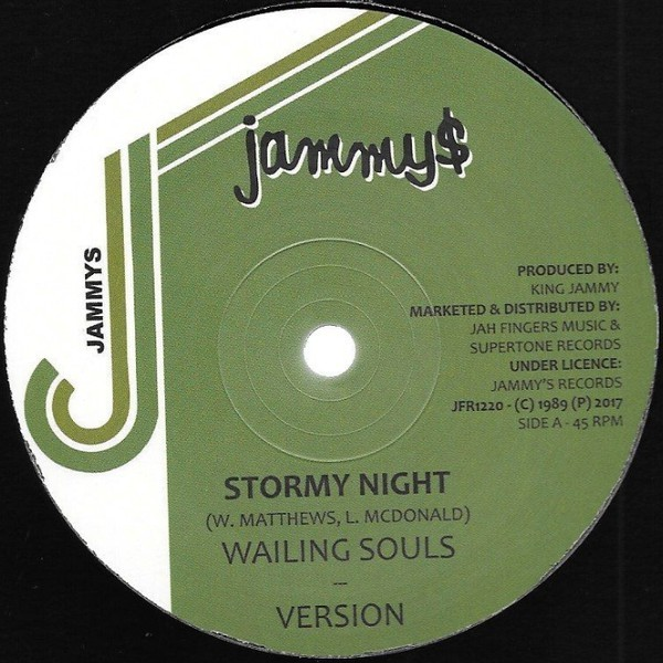 Wailing Souls : Stormy Night | Maxi / 10inch / 12inch  |  Oldies / Classics