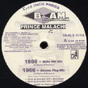 Prince Malachi : 1966 Bobo Hill Mix | Maxi / 10inch / 12inch  |  UK