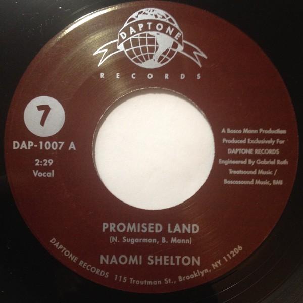 Naomi Shelton : Promised Land   Single / 7inch / 45T     Ska / Rocksteady / Revive
