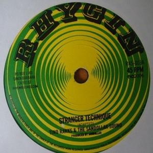 Tino Ranks & The Sandollar Sound : Stanger Techniques   Single / 7inch / 45T     Ska / Rocksteady / Revive