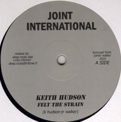 Keith Hudson : Felt The Strain | Maxi / 10inch / 12inch  |  Oldies / Classics