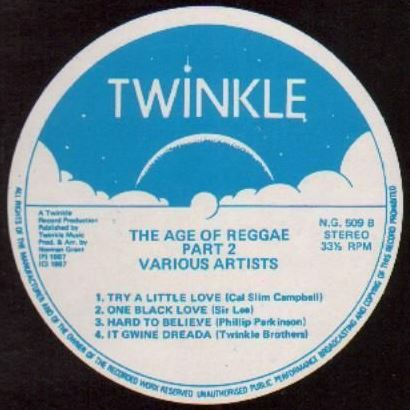 Various : The Age Of Reggae Part 2   LP / 33T     UK
