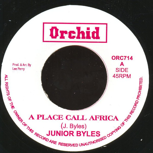 Junior Byles : A Place Call Africa | Single / 7inch / 45T  |  Oldies / Classics
