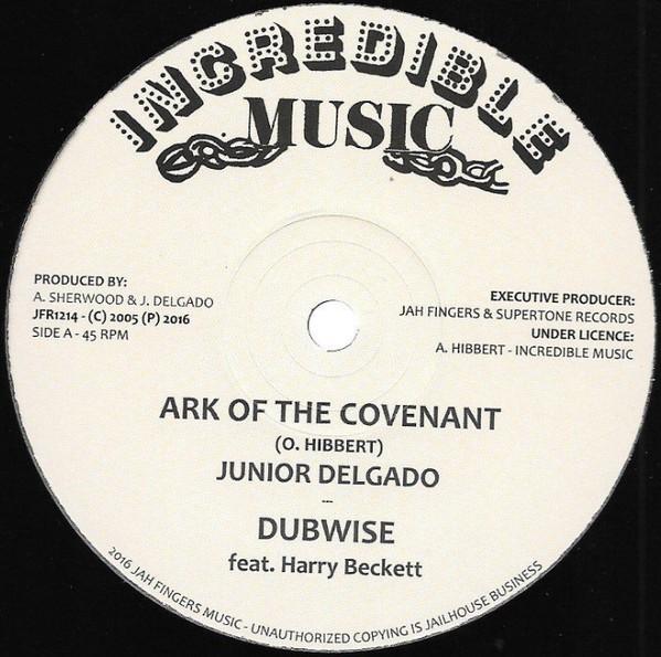 Junior Delgado : Ark Of The Covenant   Maxi / 10inch / 12inch     Oldies / Classics