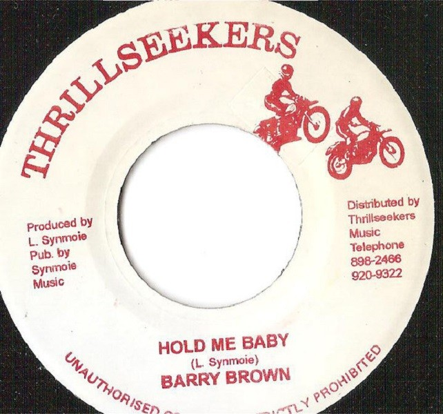 Barry Brown : Hold Me Baby | Single / 7inch / 45T  |  Oldies / Classics