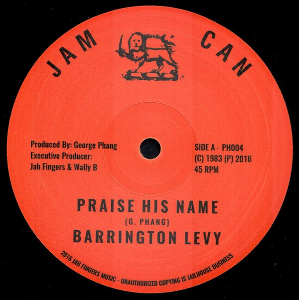 Barrington Levy : Praise His Name | Maxi / 10inch / 12inch  |  Oldies / Classics