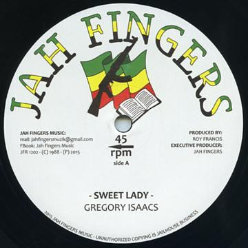 Gregory Isaacs : Sweet Lady | Maxi / 10inch / 12inch  |  Oldies / Classics