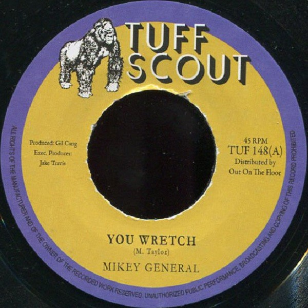 Mikey General : You Wretch   Single / 7inch / 45T     Dancehall / Nu-roots