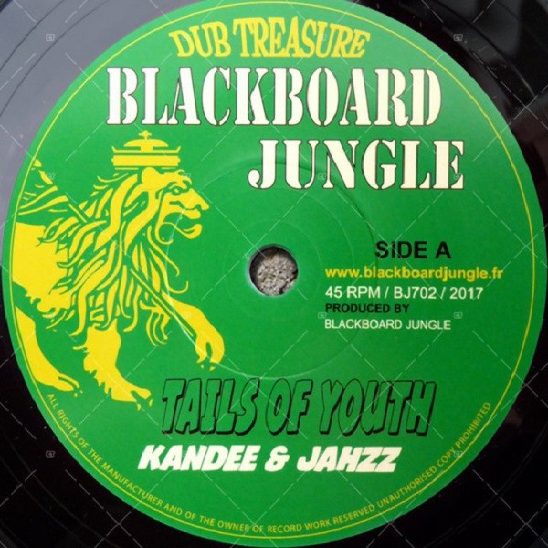 Kandee & Jahzz : Tails Of Youth | Single / 7inch / 45T  |  UK