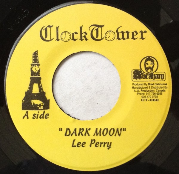 Lee Perry & The Upsetters : Dark Moon   Single / 7inch / 45T     Oldies / Classics