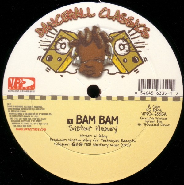 Sister Nancy : Bam Bam | Maxi / 10inch / 12inch  |  Dancehall / Nu-roots