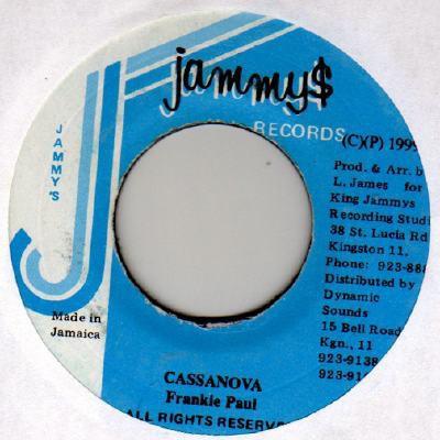 Frankie Paul : Casanova   Single / 7inch / 45T     Dancehall / Nu-roots