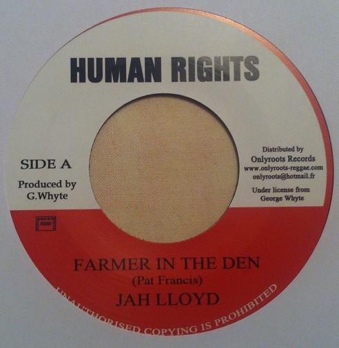 Jah Lloyd : Farmer In The Den
