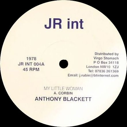 Anthony Blackett : My Little Woman + Dub | Maxi / 10inch / 12inch  |  Oldies / Classics