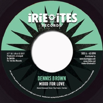 Dennis Brown : Mood For Love | Single / 7inch / 45T  |  Dancehall / Nu-roots