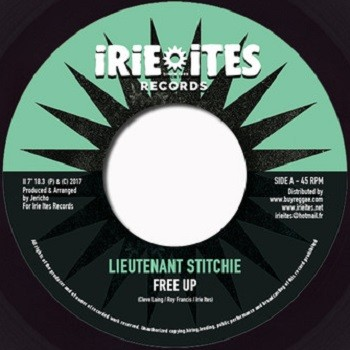 Lt Stitchie : Free Up   Single / 7inch / 45T     Dancehall / Nu-roots