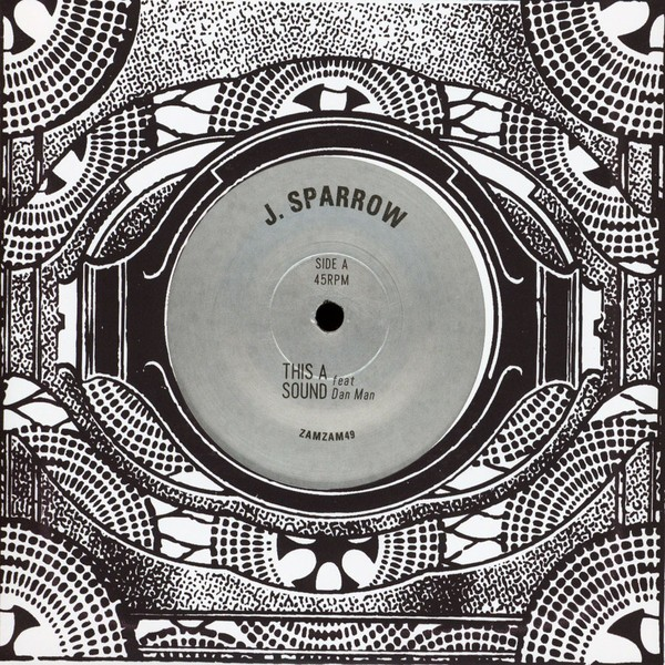 J. Sparrow Ft. Danman : This A Sound   Single / 7inch / 45T     UK